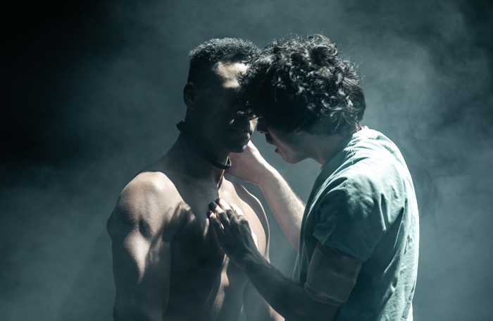 Ira Mandela Siobhan and Ethan Kai in Equus. Photo: The Other Richard