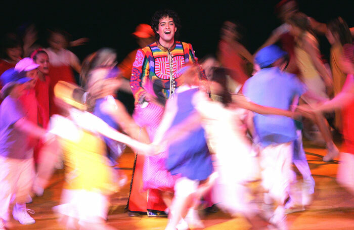 Lee Mead in Joseph and the Amazing Technicolour Dreamcoat at the Adelphi, 2007