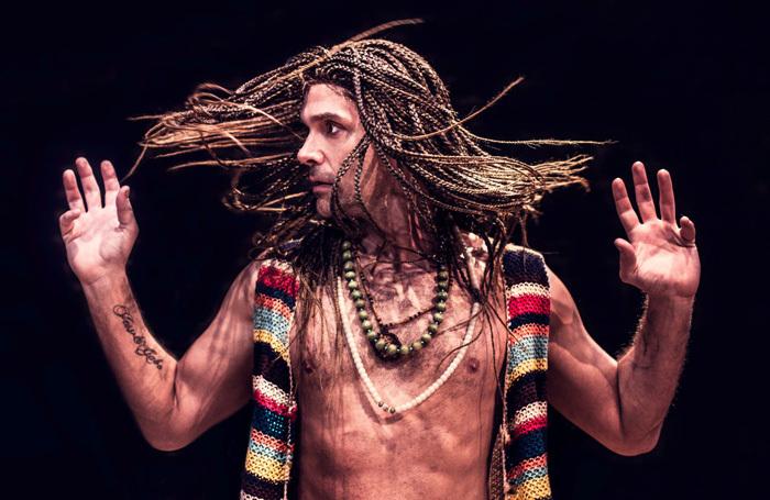 Josep Millson in Keith? at Arcola Theatre, London. Photo: Idil Sukan