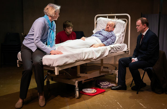 The cast of My Brother's Keeper at Playground Theatre, London
