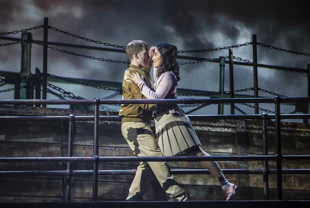 The Last Ship at Northern Stage, Newcastle-upon-Tyne. Photo: Pamela Raith