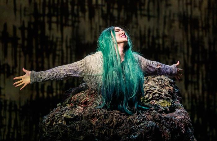 Marta Fontanals-Simmons in The Monstrous Child at Royal Opera House, London. Photo: Tristram Kenton