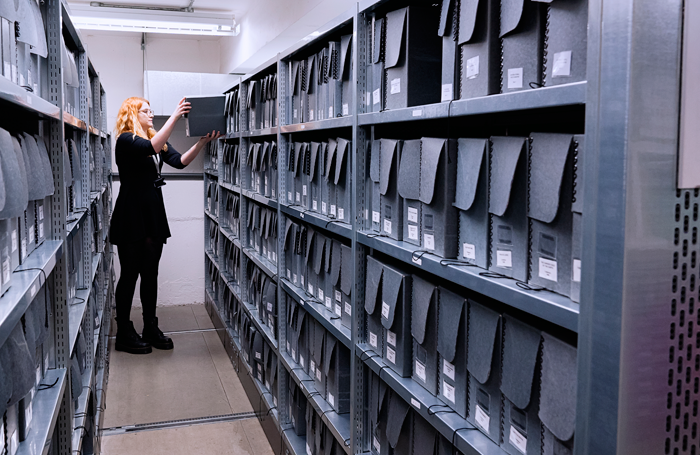 The National Theatre Archive in Oval. Photo: James Bellorini
