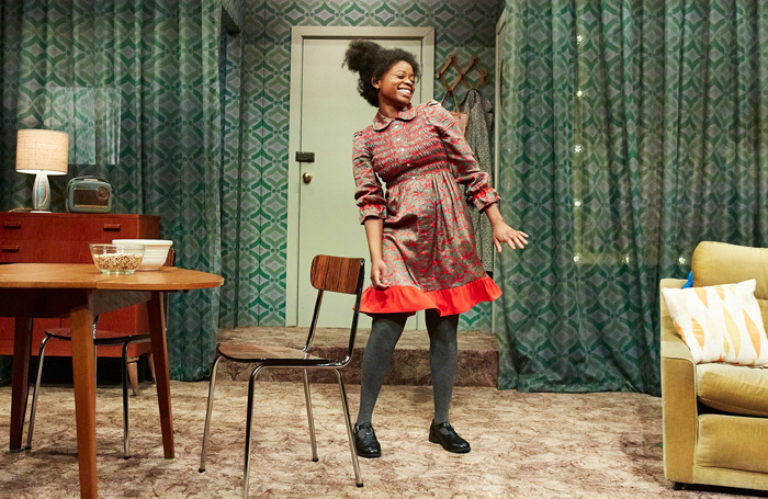 Kudzai Sitima in The Princess and the Hustler at Bristol Old Vic. Photo: The Other Richard