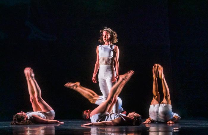 Cori Kresge in Tesseract at Barbican Theatre, London. Photo: Tristram Kenton