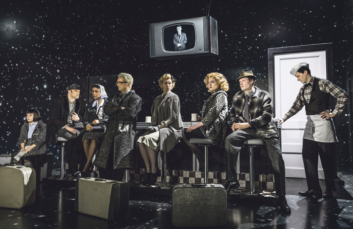 Will Houstoun and Richard Wiseman have worked together on effects for The Twilight Zone, which has just opened in the West End. Photo: Marc Brenner