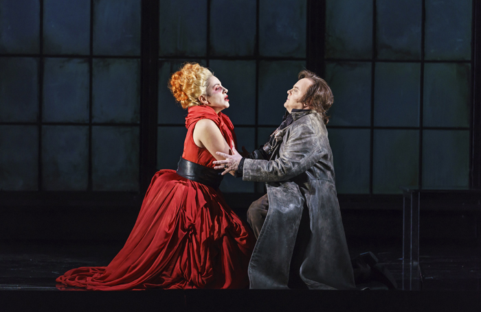 Joyce El-Khoury and Barry Banks in Welsh National Opera's Roberto Devereux. Photo: Bill Cooper