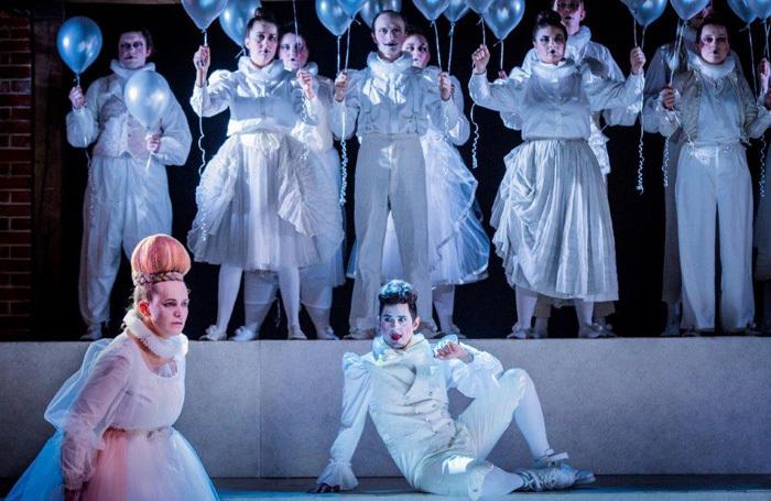 The cast of Aurora at Bury Court Opera. Photo: Robert Workman