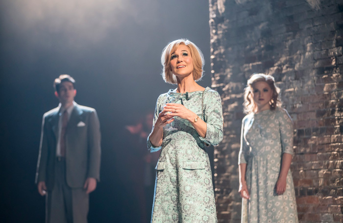 Joanna Riding in Follies at National Theatre, London. Photo: Johan Persson