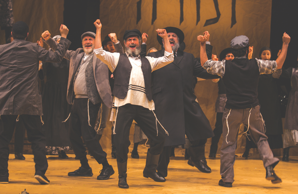 Off-Broadway's National Yiddish Theatre Folksbiene: bringing Yiddish theatre to the rest of the world