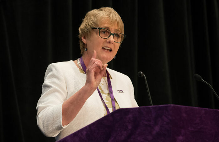 Equity general secretary Christine Payne. Photo: Philip Hartley