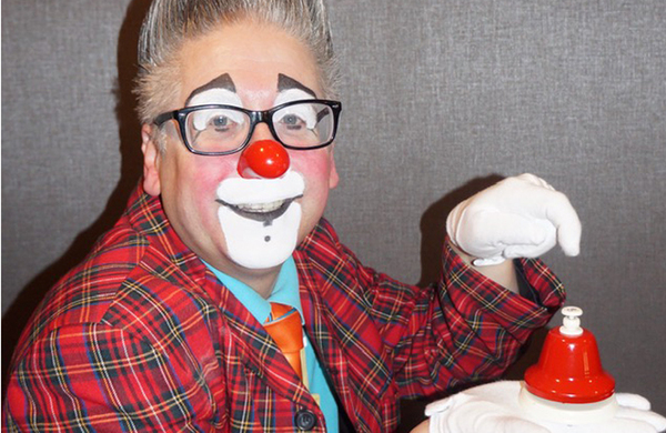 World Clown Association president Andrew Davis: 'When I started, my red nose gave me confidence'