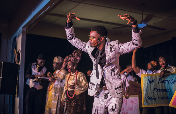 Lagos Theatre Festival show Election Fever. Photo: BAP Productions