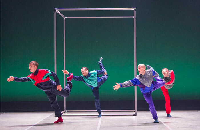 BalletBoyz open their two-part new work with Them at Sadler's Wells. Photo: Tristram Kenton