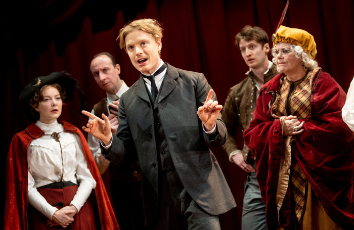 Freddie Fox in Edmond de Bergerace. Photo; Graeme Braidwood
