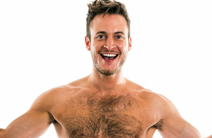 Gary Lucy in another promotional shot for The Full Monty – this time, pictured from the front