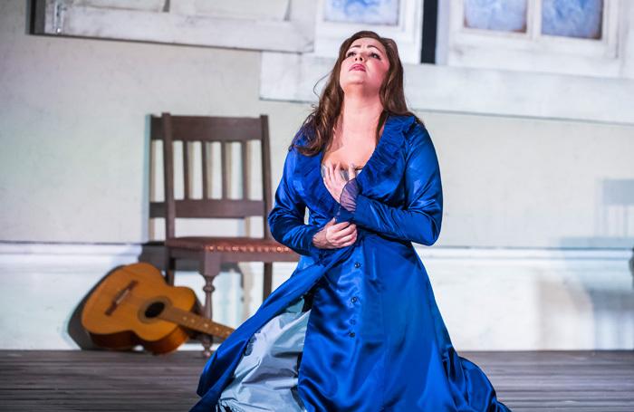 Anna Netrebko in La Forza Del Destino at Royal Opera House, London. Photo: Tristram Kenton