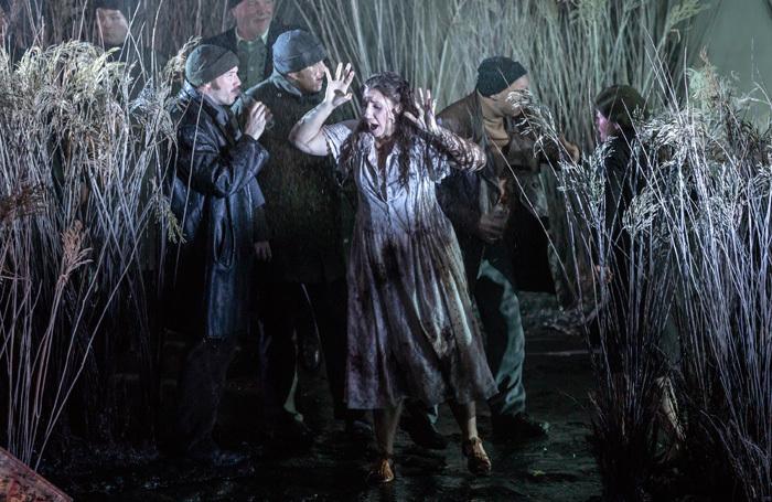 Laura Wilde in Scottish Opera's Katya Kabanova. Photo: James Glossop