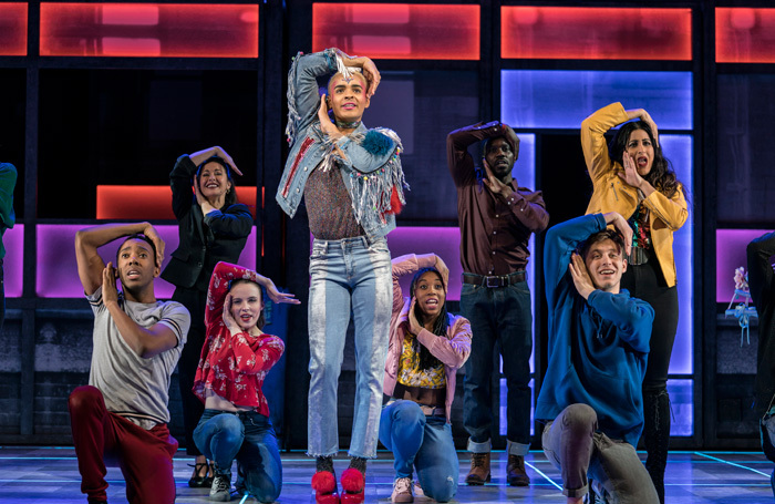 Layton WIlliams and the cast of Everybody's Talking About Jamie at the Apollo Theatre.-Photo: Johan Perrson