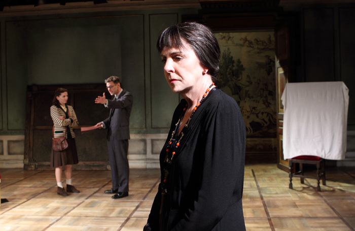 Penelope Wilton in The Bay at Nice at Menier Chocolate Factory, London. Photo: Catherine Ashmore
