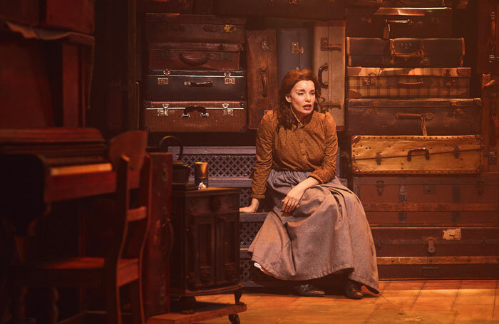 Rebecca Trehearn in Rags at the Hope Mill Theatre, Manchester. Photo: Nathan Chandler