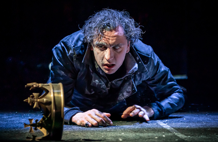 Tom Mothersdale in Richard III at Bristol Old Vic