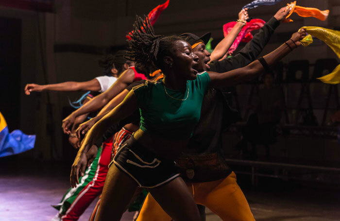 Talawa Theatre Company's Run It Back by its TYPT: 18 company of emerging black theatremakers. Photo: Sanaa Abstrakt