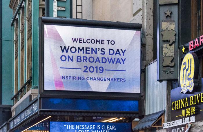 Women's Day on Broadway 2019. Photo: Howard Sherman