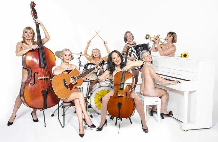 The new cast of Calendar Girls the Musical