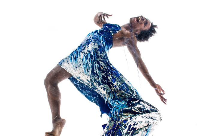 Valerie Ebuwa in Placebo by Clod Ensemble. Photo Manuel Vason