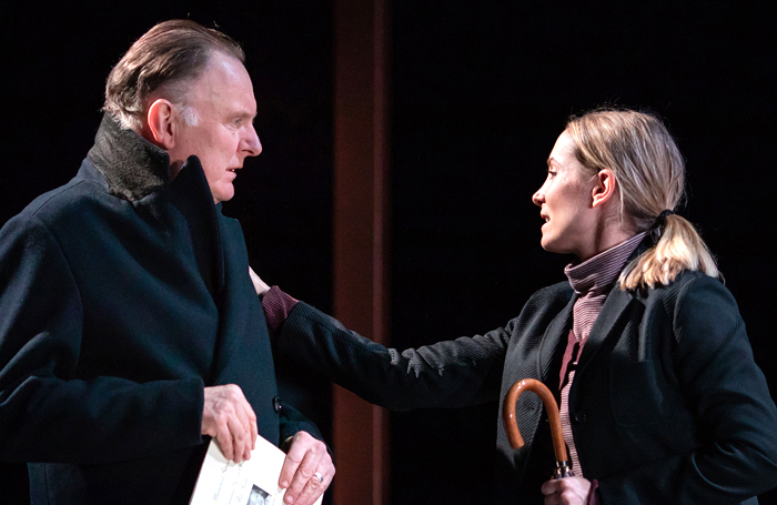 Robert Glenister and Joanne Froggatt in Alys, Always. Photo: Helen Maybanks