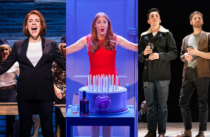 Come From Away, Company and The Inheritance came away with the most nominations for this year's Olivier Awards