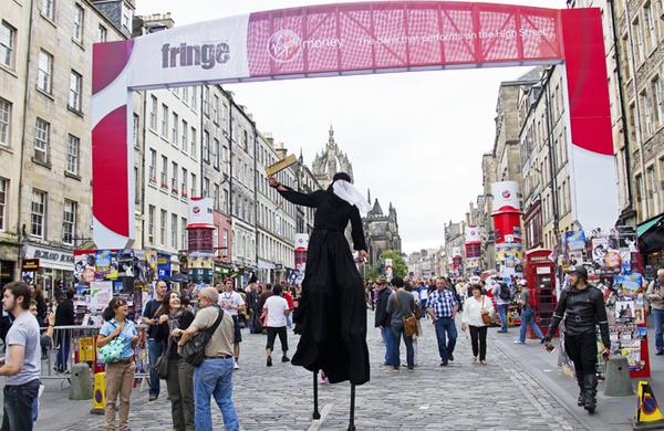 Edinburgh Fringe announces partnership with Kickstarter