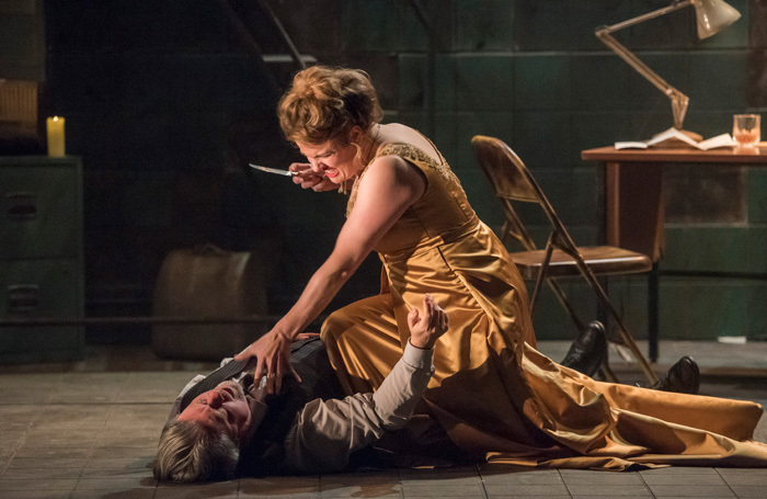 Scene from Mid Wales Opera's Tosca