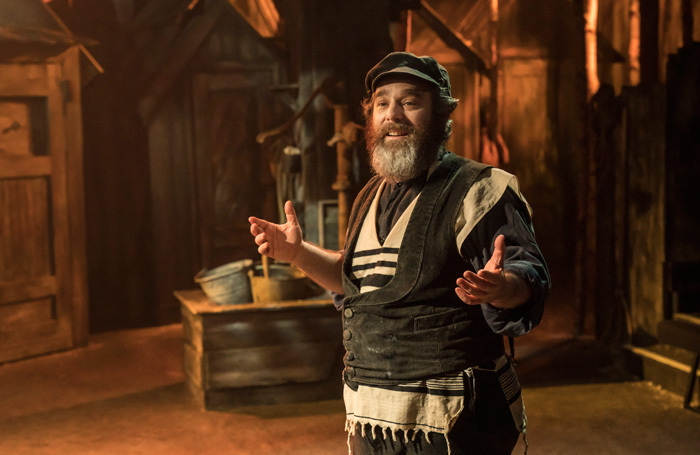 Andy Nyman in Fiddler on the Roof at Playhouse Theatre, London. Photo: Johan Persson
