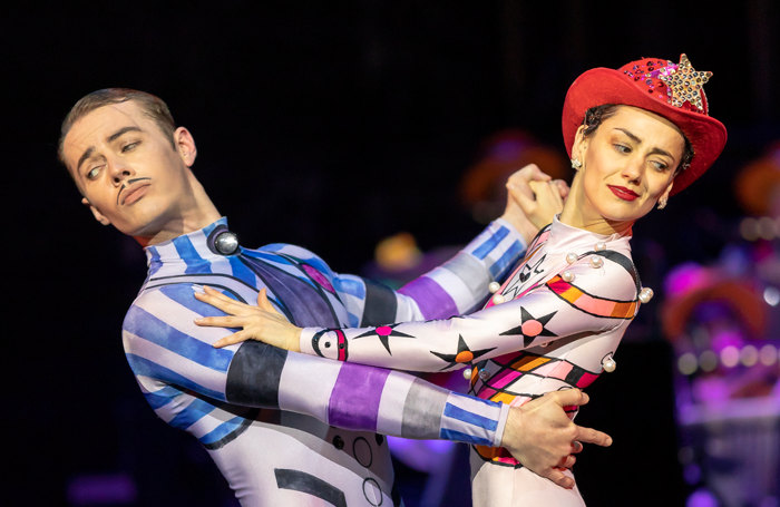 Christopher Harrison and Sophie Martin in Kenneth MacMillan's Elite Syncopations. Photo: Andy Ross
