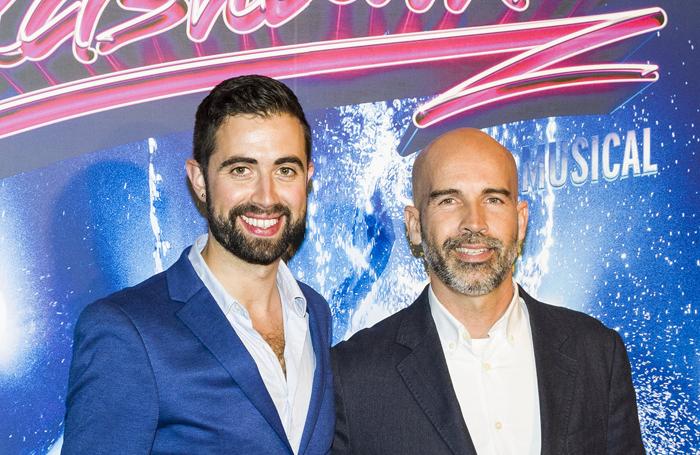Selladoor Worldwide chief executive David Hutchinson with Selladoor Spain managing director JC Storm