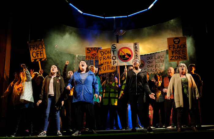 A scene from Acts of Resistance at Bristol Old Vic. Photo: Jack Offord