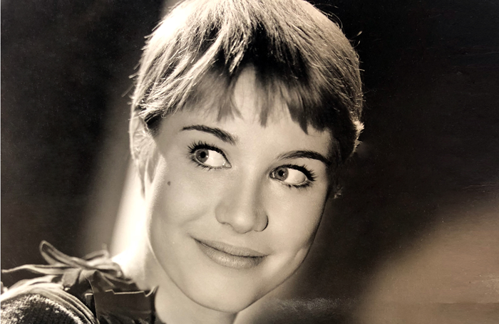 Julia Lockwood as Peter Pan at the Scala Theatre in 1963
