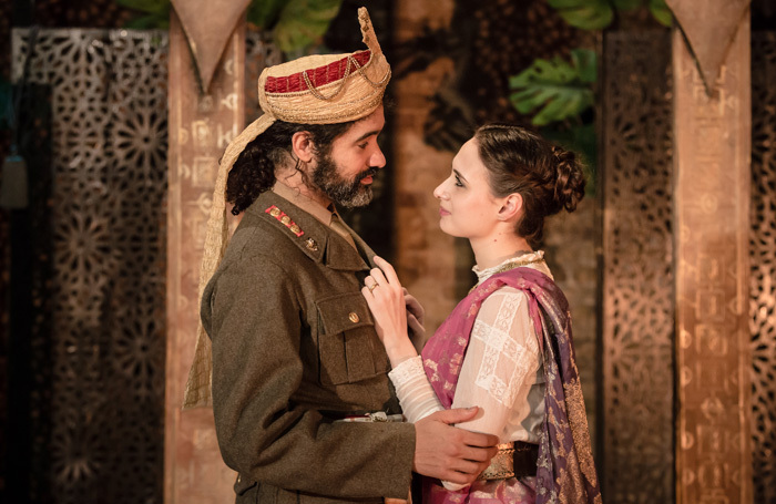 Matthew Wade and Carlotta De Gregori in Union Theatre, London. Photo Scott Rylander