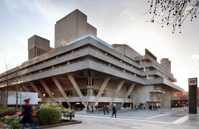 The National Theatre on London's South Bank. Photo: Philip Vile