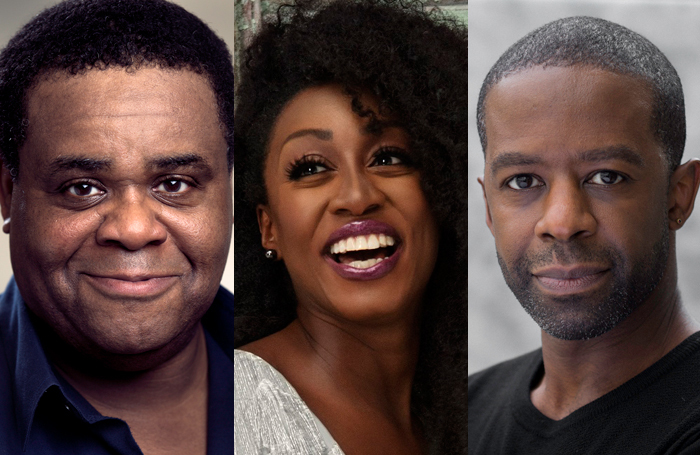Clive Rowe, Beverley Knight and Adrian Lester