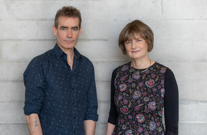 Rufus Norris and Lisa Burger. Photo: Cameron Slater