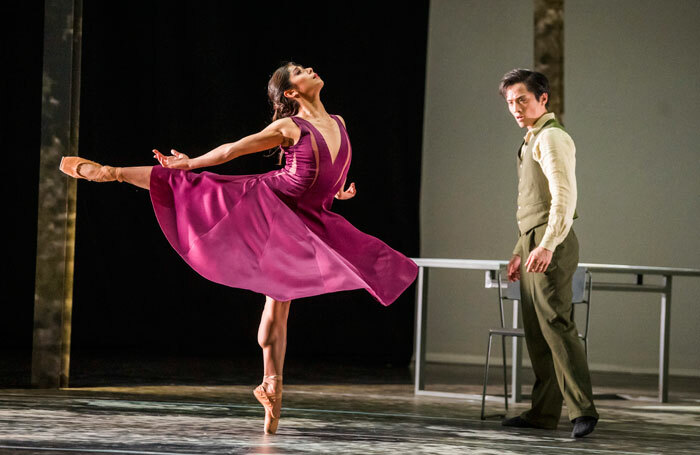 Crystal Costa and Jeffrey Cirio in Nora from the triple bill She Persisted at Sadler's Wells, London. Photo: Tristram Kenton