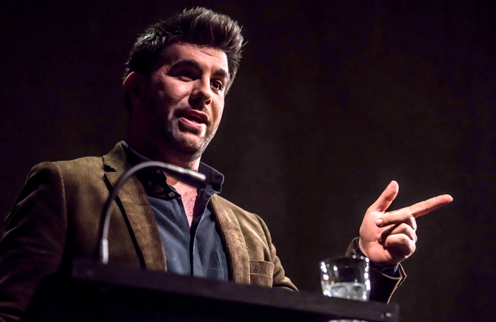 Simon Lipkin in Ghost Stories at the Lyric Hammersmith