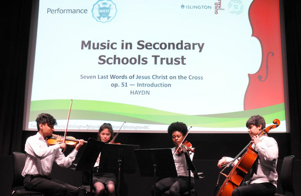 Guildhall to provide music education for London council in 'pioneering' collaboration