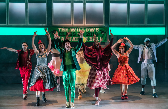 The cast of In the Willows at Oxford Playhouse. Photo: Richard Davenport