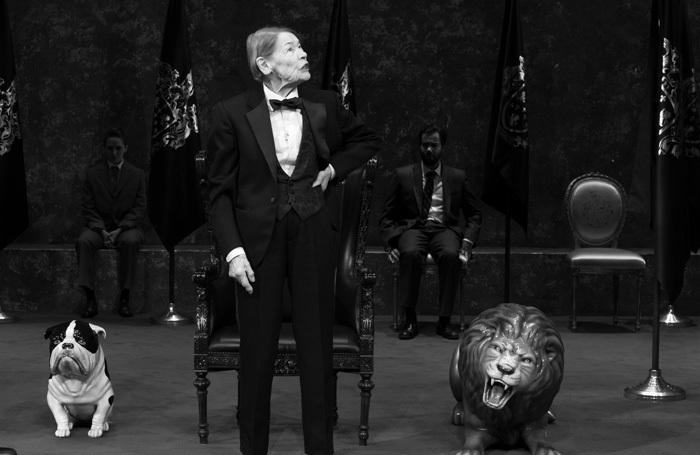 Glenda Jackson in King Lear at Cort Theatre, New York. Photo: Brigitte Lacombe
