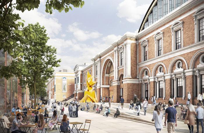 Artist's impression of the Olympia London development