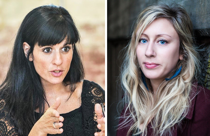 Katie Posner, left, and Charlotte Bennett have been appointed new joint artistic directors of Paines Plough